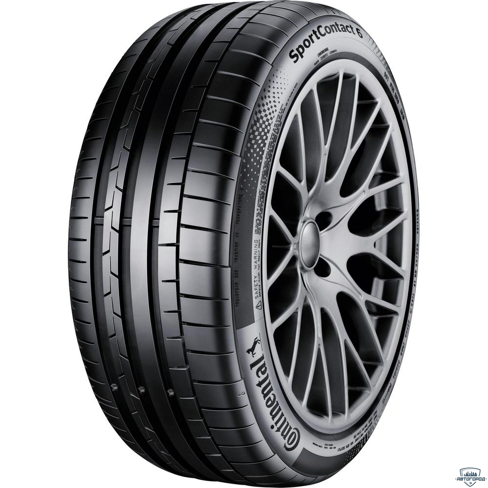 Шины Continental SportContact 6 245/35ZR19 93(Y) XL